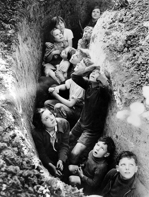1-A-Makeshift-Bomb-Shelter-circa-1940-1941